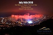 Fireworks of Jounieh Festival 2016 from Bay Lodge