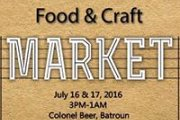 Food & Craft Market at Colonel Beer Brewery