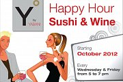 Y by Yabani: Happy Hour - Sushi & Wine