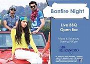 Bonfire Night at El-Rancho: BBQ & Open Bar!