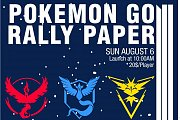 Pokémon GO Rally Paper in Lebanon