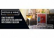 Movie & Wine at Memory Lane