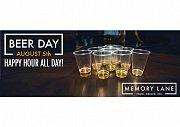 International Beer Day at Memory Lane