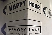 Extended Happy Hour at Memory Lane