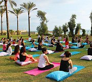 Weekly Yoga Classes at Edde Sands