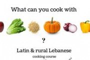 Latin & Rural Lebanese Cooking Course with Lunch in Aqoura