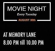Movie Night at Memory Lane - Every Tuesday