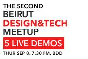 The 2nd Beirut Design & Tech Meetup