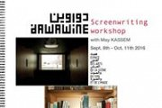 Screenwriting workshop with May Kassem