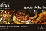 Special Adha buffet in Massabki Hotel