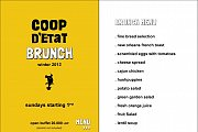 Winter Brunch at Coop d'Etat on Sundays