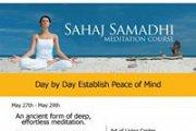 Learn Meditation~Sahaj Samadhi Course