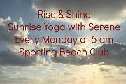 Rise & Shine Yoga - Sunrise Yoga with Serene