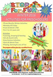 Winter Activities for Preschoolers