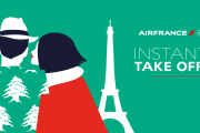 Instant Take Off with Air France!