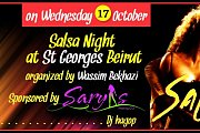SALSA NIGHT AT ST GEORGES BEIRUT