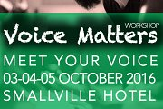 MEET YOUR VOICE . Voice Matters Workshop