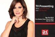TV Presenting Workshop at Director's Kcut with Katia Mendelek and Elie Ahwash