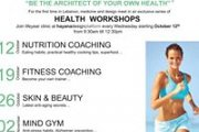 Health Workshops by lifeyear clinic