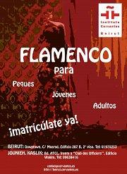 Flamenco courses @ Cervantes