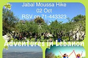 Hiking in Jabal Moussa Reserve with Adventures in Lebanon