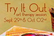 Try It Out- art therapy session
