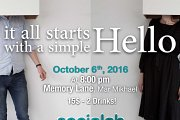 Socialab Events - It all starts with a simple Hello!
