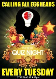Quiz Night at EM chill every Tuesday