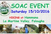 SOAC Hiking event at Hammana – Lamartine Valley - Falougha