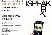 I Speak Art, an event combining art, taste and gourmet food