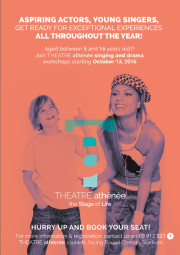 THEATRE athénée singing and drama workshops