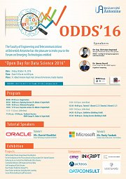 Open Day for Data Science 2016 - Odds'16