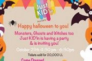 Halloween Party at Just Kid'in