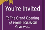 Hair Lounge City Mall Grand Opening
