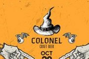 Halloween Party at Colonel Beer Brewery