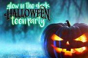 GlowInTheDark Halloween teen Party