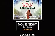 Movie Night at Memory Lane - Un Indien dans la Ville