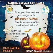 Halloween Pumpkin Carving Day