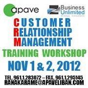 Customer Relationship Management - CRM Training Workshop