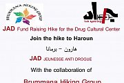 JAD Fund raising hike  for the Drug Cultural Center