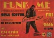 FUNK ME dance party feat. live band SOUL SISTER and DJ SOULSYSTEM