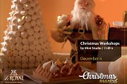 "Le Royal and ""himaya's "" Christmas Village Kids Workshops By Mini Studio"