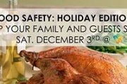 Food Safety: Holidays Edition