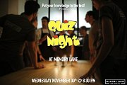 Quiz Night at Memory Lane - 4th Edition