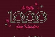 A little elf (1000) does wonders