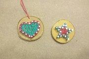 Mini String Art Ornaments