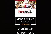Movie Night at Memory Lane - Love Actually