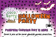 Halloween Party for children at CocoBerry Kids Club