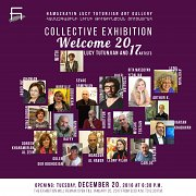 Welcome 2017 with Lucy Tutunjian and 17 Artists