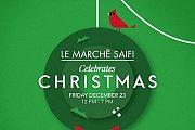 Le Marché Saifi Celebrates Christmas